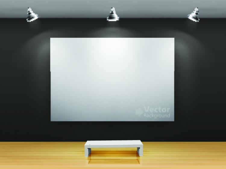 free vector Gallery of publicity box 04 vector