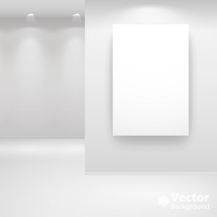 free vector Gallery show background 07 vector