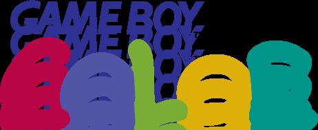 free vector Game Boy Color logo