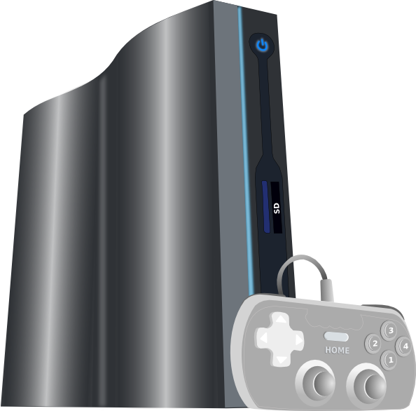 free vector Game Console clip art