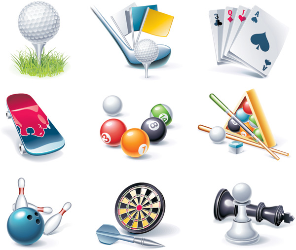 free vector Game entertainment icon vector