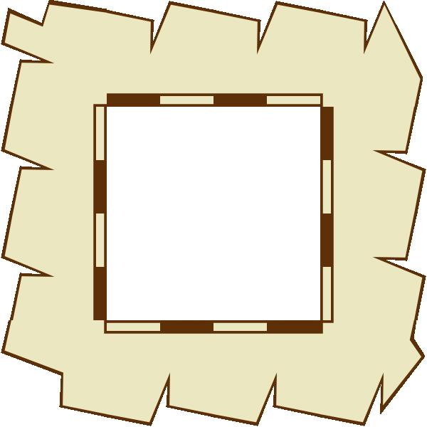 free vector Game Map Border Paper clip art