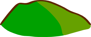 free vector Game Map Symbols Hill Colored clip art