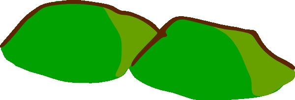 free vector Game Map Symbols Hills clip art