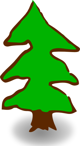 free vector Game Map Symbols Tree clip art
