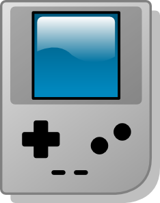 free vector Gameboy Pocket clip art