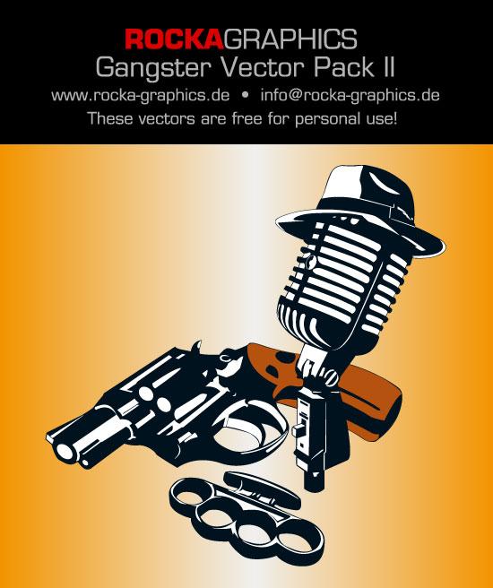 free vector  Gangsterpack