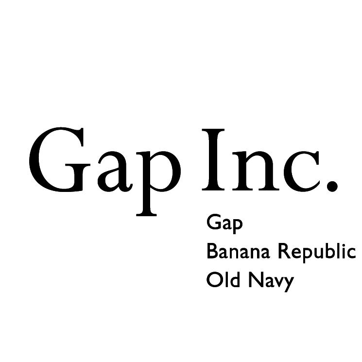 free vector Gap inc