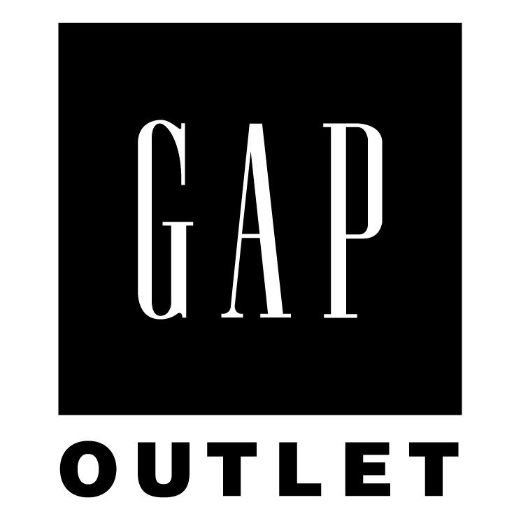 free vector Gap outlet