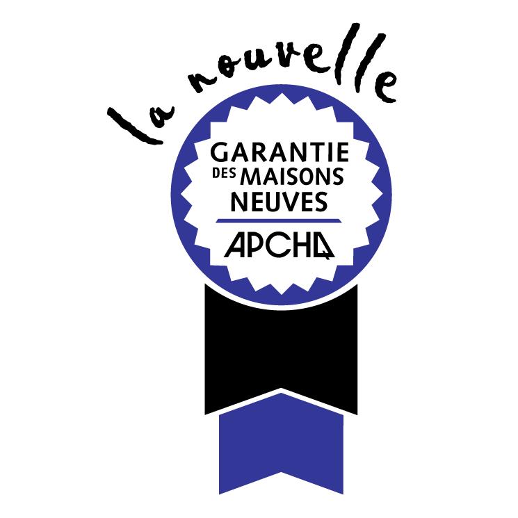 free vector Garantie des maisons neuves apchq