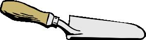 free vector Garden Trowel clip art