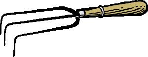 free vector Gardening Fork clip art