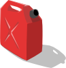free vector Gas Container clip art
