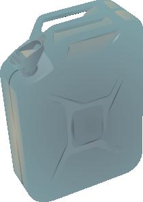 free vector Gas Container Jug clip art