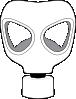 free vector Gas Mask clip art