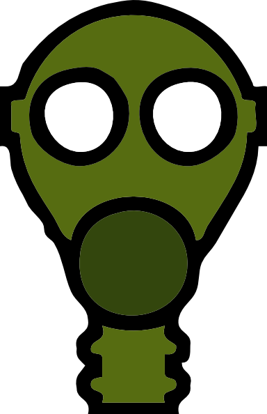 free vector Gas Mask clip art