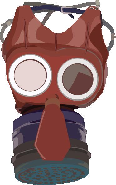 free vector Gasmask clip art