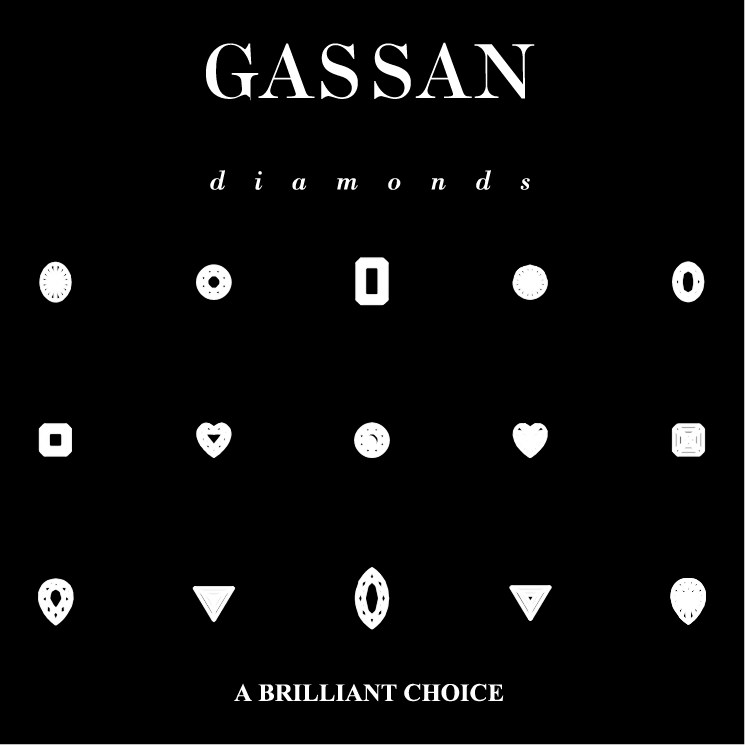 free vector Gassan diamonds