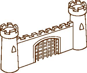 free vector Gate clip art