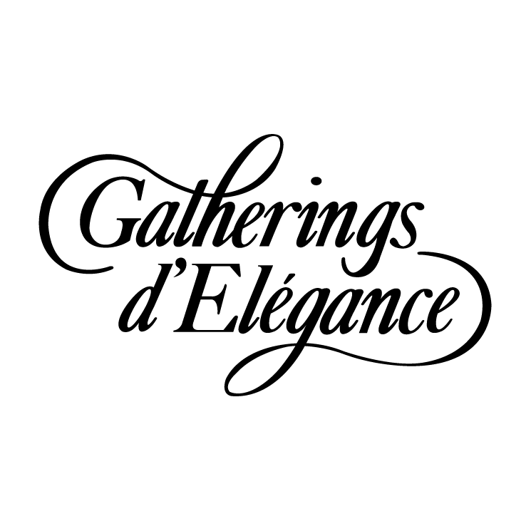 free vector Gatherings delegance