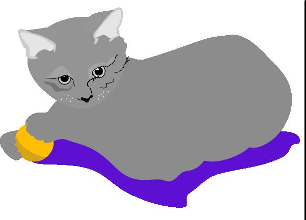 free vector Gattina Cat clip art