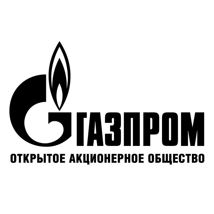 free vector Gazprom 2