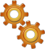 free vector Gears Motion Motor Engine clip art