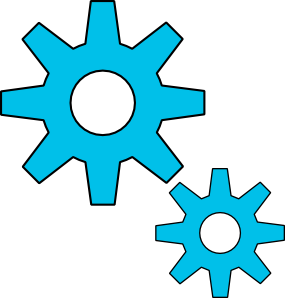 free vector Gears Motion Motor Engine clip art