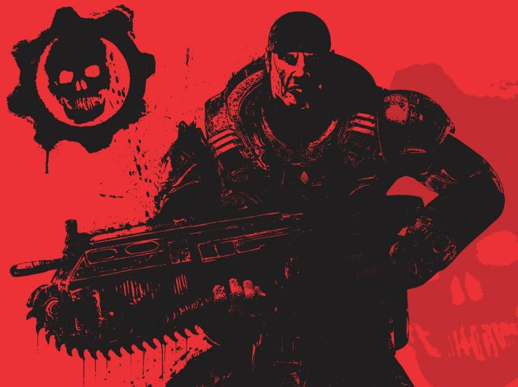 free vector Gears of War (Marcus Fenix)