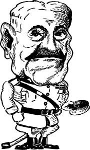 free vector Gen John J Pershing clip art