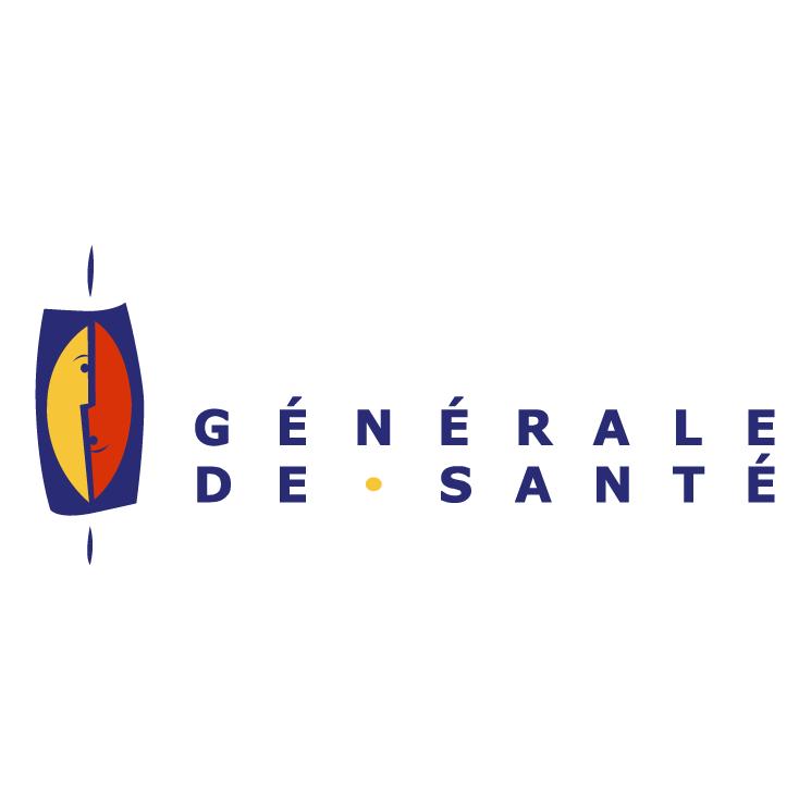 free vector Generale de sante