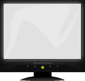 free vector Generic Monitor clip art