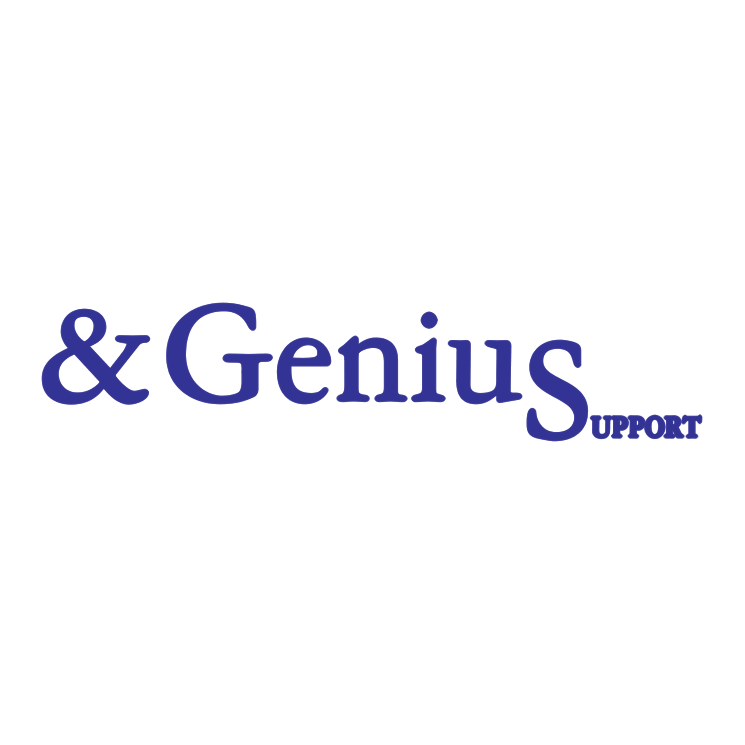 free vector Genius support