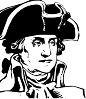 free vector George Washington clip art
