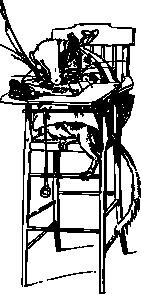 free vector Gerbil In A Chair clip art