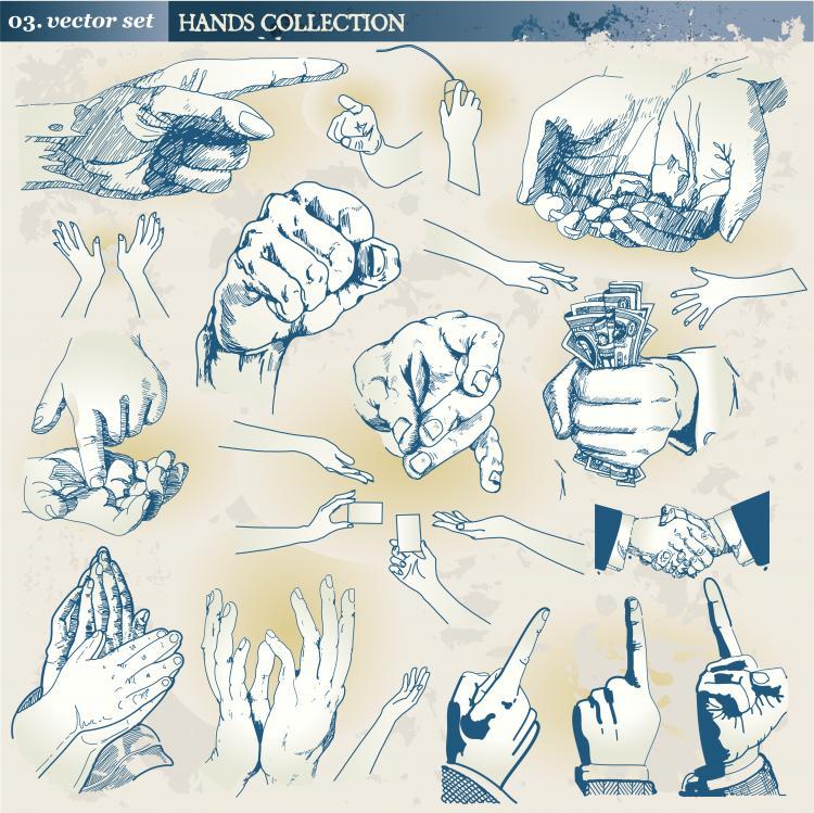 free vector Gestures vector