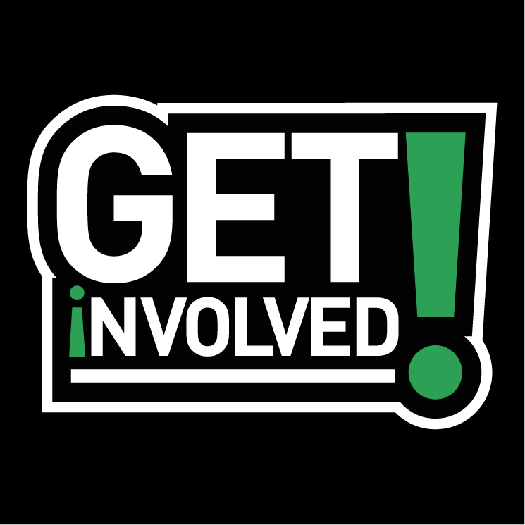 Get Involved: Get Involved Free Vector / 4Vector