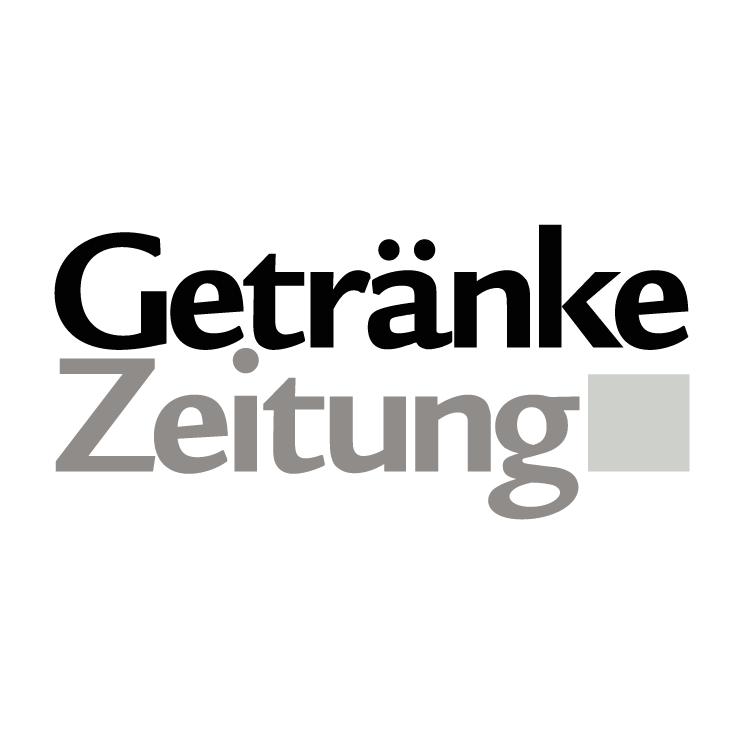 free vector Getranke zeitung
