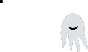 free vector Ghost clip art