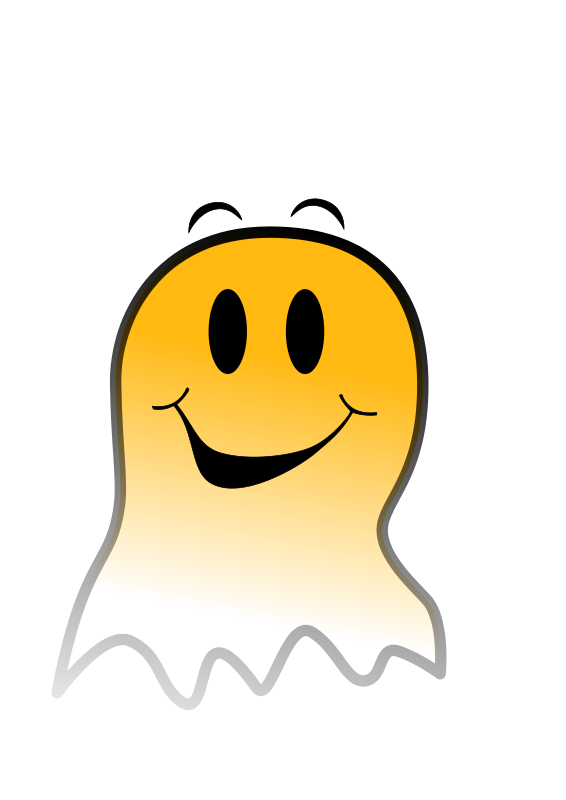 free vector Ghost Smiley
