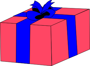 free vector Gift Box clip art