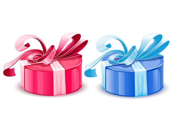 free vector Gift packaging vector