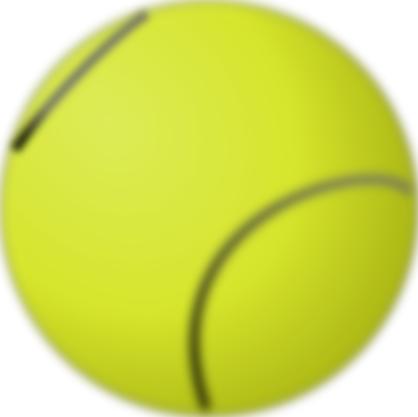 free vector Gioppino Tennis Ball clip art