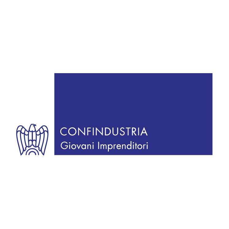 free vector Giovani imprenditori confindustria 1