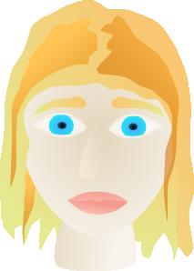 free vector Girl Face clip art