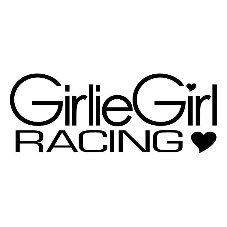 free vector Girlie girl racing
