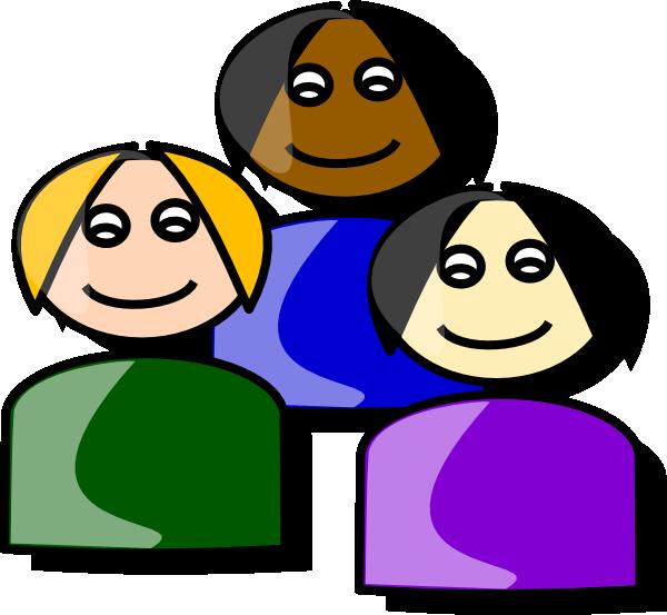 free vector Girls Cartoon clip art