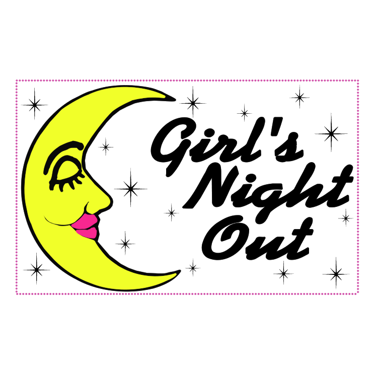free vector Girls night out