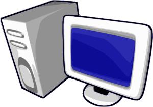 free vector Gis Computer Glenn Rolla clip art