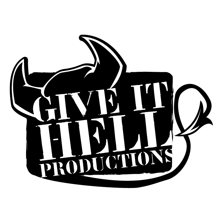 free vector Give it hell productions